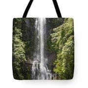 Waterfall On The Road To Hana Tote Bag