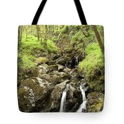 Waterfall Through Woodland Tote Bag