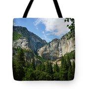 Waterfall, Yosemite Valley, Yosemite Tote Bag