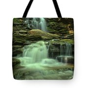 Waterfalling Through Ricketts Glen Tote Bag