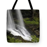 Waterfalls At Base Tote Bag