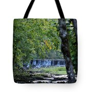 Waterfalls At Dusk 2012 Tote Bag
