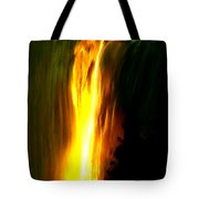 Waterfalls By Light Tote Bag