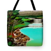 Waterfalls Tote Bag