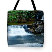 Waterfalls Of Carreck Creek Tote Bag
