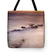Waterfalls On The Rocks Tote Bag