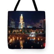 Waterfire Providence Tote Bag