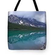 Waterfowl Lake Tote Bag