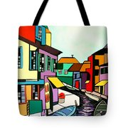 Waterfront Tote Bag by Anthony Falbo