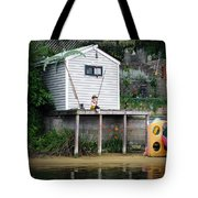 Waterfront Decor Tote Bag