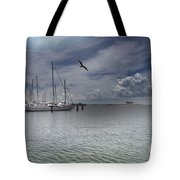 Waterfront View  Tote Bag