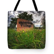 Waterfront Village Tote Bag