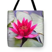 Waterlily In A Pond Tote Bag