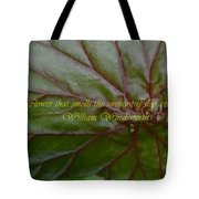 Waterlily Leaf Macro Tote Bag