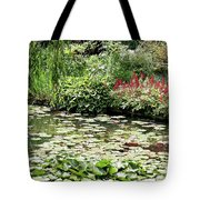 Waterlily Pond Giverney Tote Bag