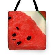 Watermelon Tote Bag by Anastasiya Malakhova