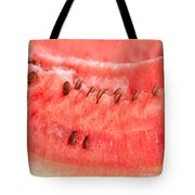 Watermelon Background Tote Bag by Luis Alvarenga