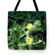 Watermelon Flowers And Vine Tote Bag