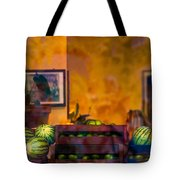 Watermelons On The Window Sill Tote Bag