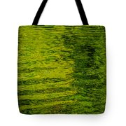 Water's Green Tote Bag by Roxy Hurtubise