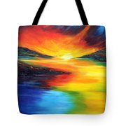 Waters Of Home Tote Bag