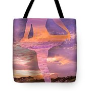 Waterspout Tote Bag