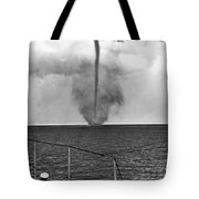 Waterspout In China Tote Bag