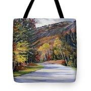 Waterville Road New Hampshire Tote Bag