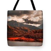 Waterway-kauai Hawaii Tote Bag