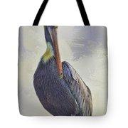 Waterway Pelican Tote Bag by Deborah Benoit