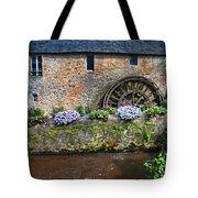 Waterwheel In Brittany Tote Bag