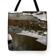 Watery Trail Tote Bag