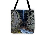 Watkins Glen Central Cascade Tote Bag