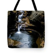 Watkins Glen Waterfalls Tote Bag