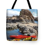 Watson Lake Tote Bag by Diane Greco-Lesser