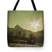 Watzmann At New Year Tote Bag