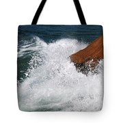 Wave Action Florianopolis Tote Bag