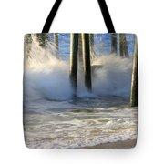 Wave Art 9 Tote Bag