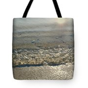 Wave On The Beach Tote Bag