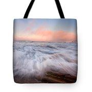 Wave On Wave Tote Bag