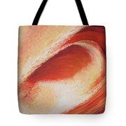 Wave Orange II Tote Bag