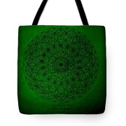 Wave Particle Duality II Tote Bag by Jason Padgett