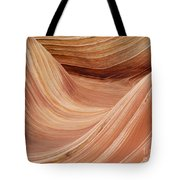 Wave Rock 3 At Coyote Buttes Tote Bag