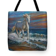 Wave Runner Tote Bag