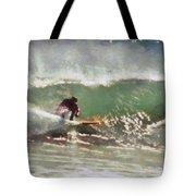 Wave Runner  Tote Bag