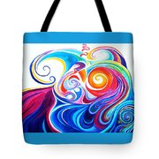 Wave Set Tote Bag