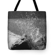 Wave Spray Tote Bag