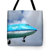 Wave To The Captain Tote Bag