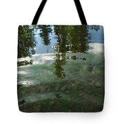 Wavering Reflections Tote Bag