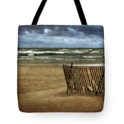 Waves And Clouds  Tote Bag